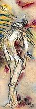 Santa Fe Angels - Angel 3 by Roberta Ann Busard (Giclee Print)