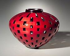 Hollowform Vessel by Joel Hunnicutt (Wood Sculpture)