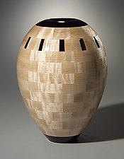 Maple Vase by Joel Hunnicutt (Wood Sculpture)