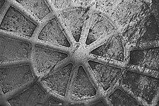 Manhole cover 4_Pa 23_004 by Allan Baillie (Black & White Photograph)