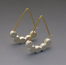 Five Dot Earring by Elisa Bongfeldt (Silver Earrings)