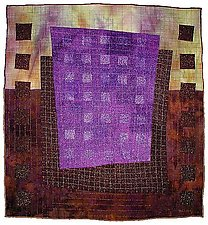 Colorfields Amethyst by Michele Hardy (Fiber Quilt)