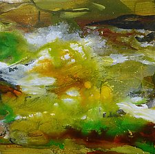 Olympic Summer Stream V by Stephen Yates (Acrylic Painting)