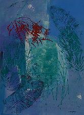 Underwater Passage No.2 by Sandra Humphries (Monotype Print)