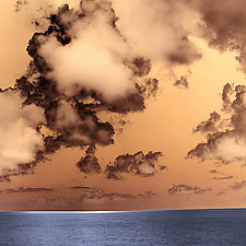 Cloudscape 2 by Marcie Jan Bronstein (Color Photograph)