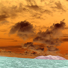 Cloudscape 6 by Marcie Jan Bronstein (Color Photograph)