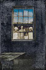 Looking Back Through The Window of Time by Pamela Viola (Color Photograph)