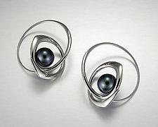 Rachel Earrings by Britt Anderson (Gold & Pearl Earrings)