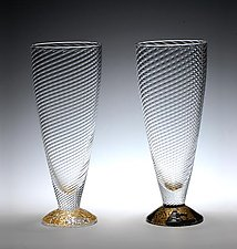 Water Glasses by Tom Stoenner (Art Glasses)