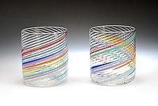 Rocks by Tom Stoenner (Art Glass Tumblers)
