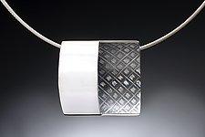 Half Open Pendant by Theresa Carson (Silver Pendant)