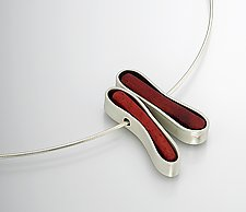 Mum Necklace by Ayala Naphtali (Silver Pendant)