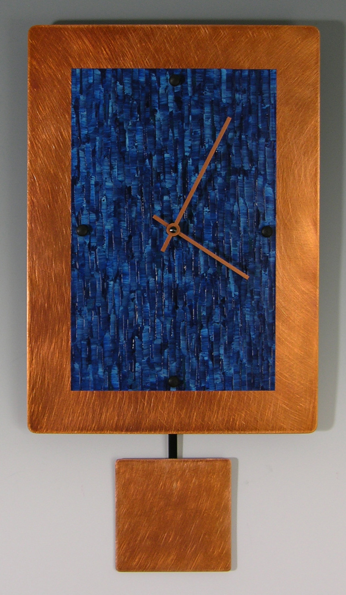Copper Ocean Pendulum Clock