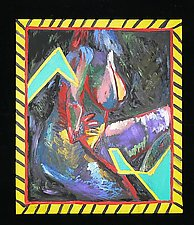 Zig Zag by Rene Levy (Oil Painting)