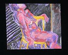 Voyeur by Rene Levy (Oil Painting)