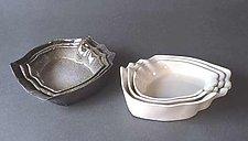 Nesting Trays by Kaete Brittin Shaw (Porcelain Trays)