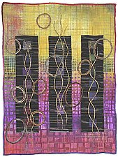 Directions #13 by Michele Hardy (Art Quilt)