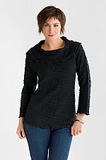 Fiore Cowl Neck Top by Carol Turner  (Knit Top)