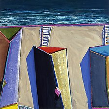 Coastal Shadows 5 by Doug Morris (Giclée Print)