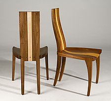 Gazelle Dining Chair by Nathan Hunter (Wood Chair)