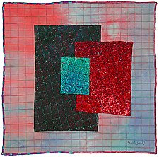 Gems 17 by Michele Hardy (Art Quilt)