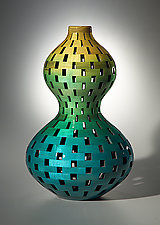 Double Gourd by Joel Hunnicutt (Wood Vessel)