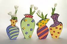 Spring Set by Diana Crain (Ceramic Wall Art)
