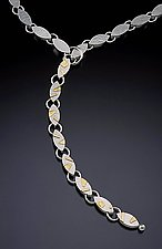 Lariat by Idelle Hammond-Sass (Silver & Gold Necklace)