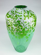 Afton Mountain Spring by Daniel Scogna (Art Glass Vase)