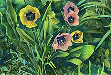 Spring Tulips by Jane Sterrett (Giclée Print)