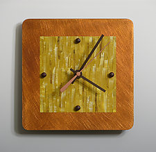 Mini Shelf Clock by Linda Lamore (Painted Clock)