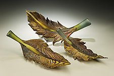 Arbor Series by Danielle Blade and Stephen Gartner (Art Glass Sculpture)