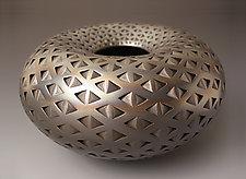Black Diamond Donut by Michael Wisner (Ceramic Vessel)