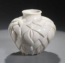Tiffany Vase by Lynne Meade (Porcelain Vessel)