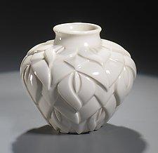 Tiffany Vase by Lynne Meade (Porcelain Vessel)