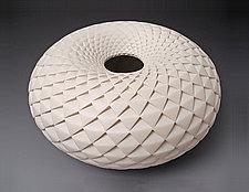 Pinecone Donut Vase by Michael Wisner (Ceramic Vase)
