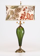 Jacqueline by Susan Kinzig and Caryn Kinzig (Mixed-Media Table Lamp)