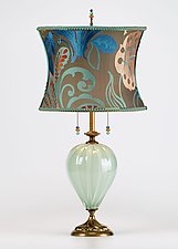 Kristen by Susan Kinzig and Caryn Kinzig (Mixed-Media Table Lamp)