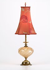 Mabel by Susan Kinzig and Caryn Kinzig (Mixed-Media Table Lamp)