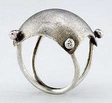 Pillow Ring by Sarah Mann (Silver Ring)