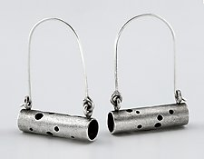 Astral Earrings by Sarah Mann (Silver Earrings)