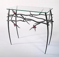 Dogwood Table by Rachel Miller (Steel Hall Table)