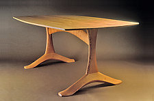 Arch Dining Table by Dean Pulver (Wood Dining Table)