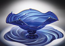 Regal Bowl by Mark Rosenbaum (Art Glass Vessel)