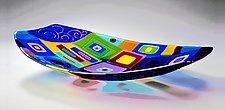 Boat Sculpture by Barbara Galazzo (Art Glass Sculpture)