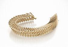 Slinky Bracelet by Patricia Madeja (Gold Bracelet)