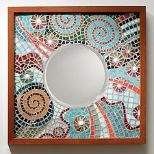 Astral Reflections by Sandra Bryant and Carl Bryant (Mosaic Mirror)