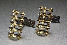 Arch Cuff Links by Ben Neubauer (Silver & Gold Cuff Links)