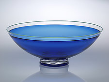 Half Round Bowl by Nicholas Kekic (Glass Bowl)