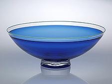 Half Round Bowl by Nicholas Kekic (Glass Bowl)